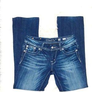 Miss Me Blue Jean Boot Cut Size 30